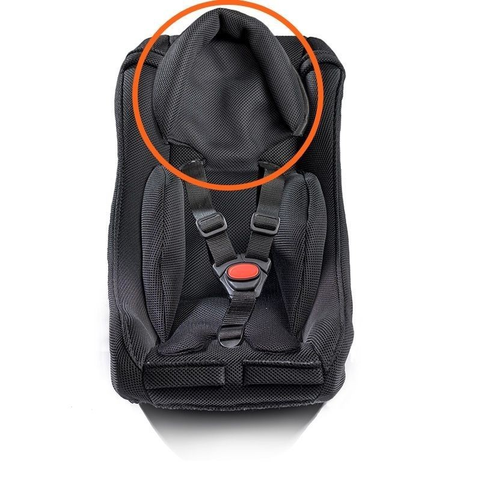 Coussin réducteur pour la tête siège bébé noir